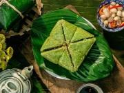 Ẩm thực - Cách gói bánh chưng không cần khuôn cực đơn giản