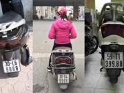 """Thế giới xe - Choáng váng với dàn xe """"Ninja"""" Lead đeo biển khủng"""