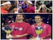 """"""" Vua """"  Federer  &  17 năm bước ra ánh sáng: Vỡ òa, ngất lịm, nghẹn lời"""