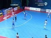 Uzbekistan chơi xấu, SAO futsal Việt Nam đau đớn nằm cáng