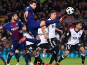 """Chi tiết  Valencia - Barcelona: Rakitic  """" nã đạn """"  kết liễu (KT)"""