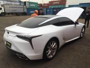"""Hàng  """" nóng """"  Lexus LC500h vừa về Việt Nam đón Tết"""
