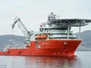 """Tàu tìm kiếm MH370 bất ngờ xuất hiện ở cảng Úc sau  """" mất tích """""""