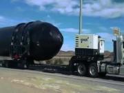 Video: Tên lửa khổng lồ Mỹ bất ngờ xuất hiện ở Vùng 51 bí ẩn