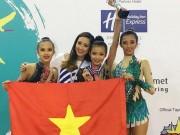 Búp bê  trẻ của thể dục Việt Nam: Chinh phục Đông Nam Á, mơ bay xa