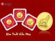 Gói trọn may mắn, tài lộc trong những đồng vàng của năm Tuất
