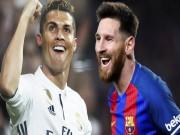 """Messi  """" bỏ túi """"  2 danh hiệu: Ronaldo tập trung Cúp C1, giữ sức World Cup"""