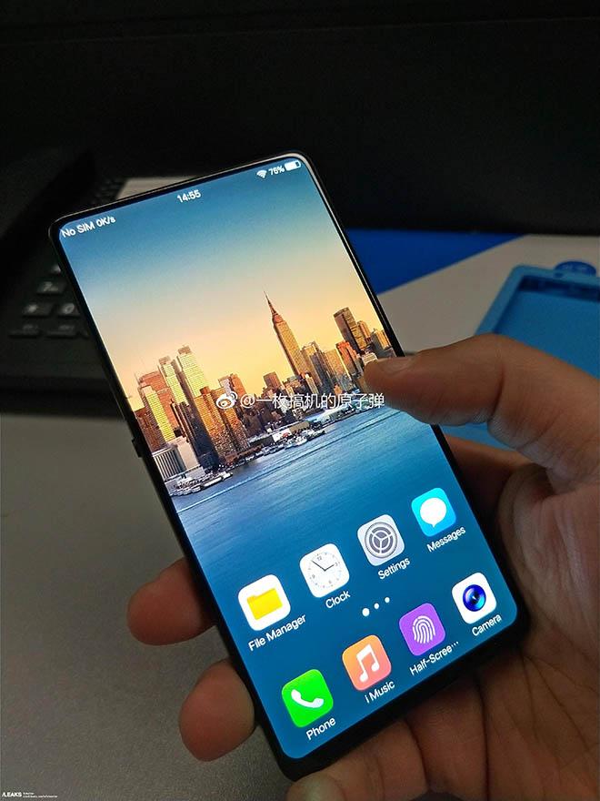 Rò ri rỉ chiếc điện thoại Android có tỷ lệ mùng hình cao hơn iPhone X - 1