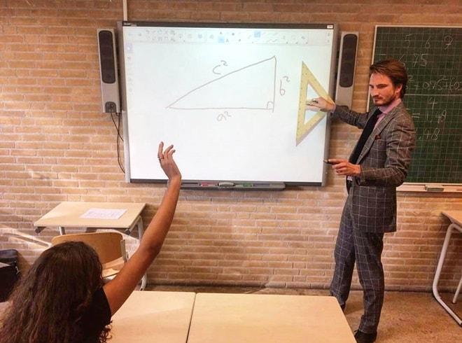 Lại thêm một thầy giáo dạy toán sở hữu thân hình siêu mẫu - 2