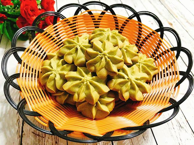 Đãi khách tới nhà với bánh quy trà xanh giòn xốp, thơm lừng hương matcha - 1
