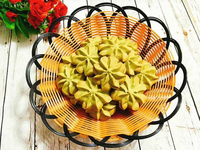 Đãi khách tới nhà với bánh quy trà xanh giòn xốp, thơm lừng hương matcha - 8