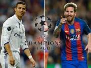 """Cúp C1 - Nơi tôn vinh đẳng cấp: """"Ông trùm"""" Ronaldo và Messi"""