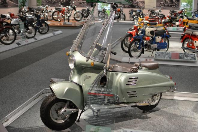 Những mẫu xe máy lạ vô cùng của Honda - 1