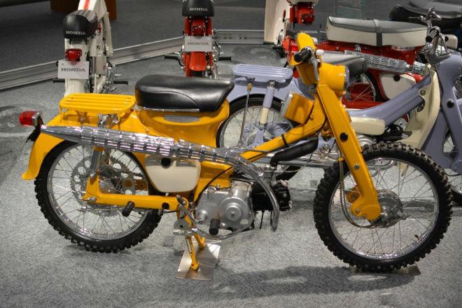 Những mẫu xe máy lạ vô cùng của Honda - 5