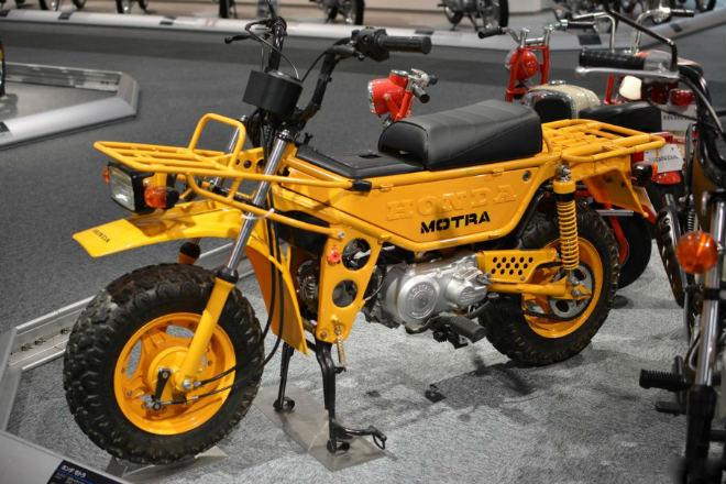Những mẫu xe máy lạ vô cùng của Honda - 10
