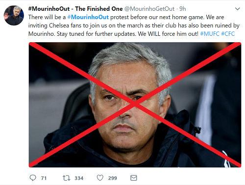 "MU thua sốc, Pogba ""bị trảm"": Triệu fan kêu gọi sa thải Mourinho - 1"