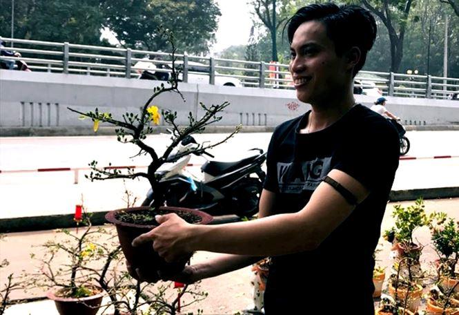 """Mai bonsai """"tí hon"""" chơi Tết hút khách ở Sài Gòn - 14"""