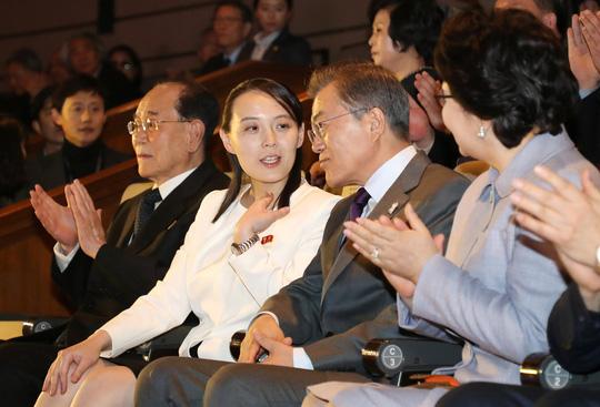 Nụ cười đầy sức mạnh của em gái ông Kim Jong-un - 1