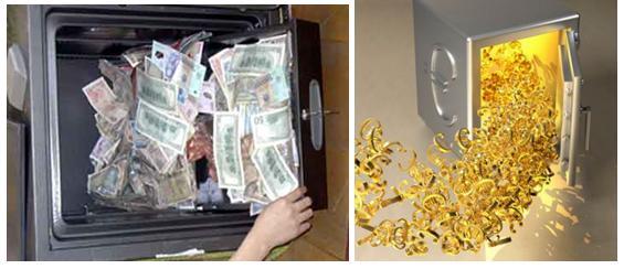 Trộm mở két sắt lấy 200 ngàn USD, bỏ lại cả đống nữ trang - 1