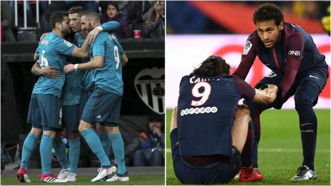 Trước vòng 1/8 cúp C1: Real hoang mang đấu PSG, người Anh lo cho MU - 1