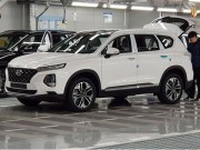 Lộ ảnh thực tế Hyundai SantaFe 2019 tại Hàn Quốc