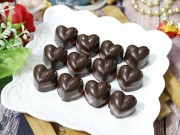 Chocolate trái tim tặng người thương ngày Valentine không khó làm như bạn nghĩ