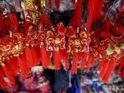 Du lịch - Rực rỡ sắc đỏ Tết Nguyên đán tại làng nghề Trung Quốc