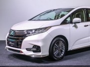 Honda Odyssey phiên bản nâng cấp facelift 2018 ra mắt