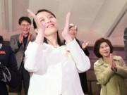 Nụ cười đầy sức mạnh của em gái ông Kim Jong-un