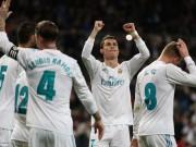 """Tiêu điểm vòng 23 La Liga: Real - Ronaldo  """" bùng cháy """" , Barca  hết đạn"""