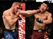 """UFC:  """" Đánh bẩn """"  vẫn thua, võ sỹ Trung Quốc còn được thưởng đống tiền"""
