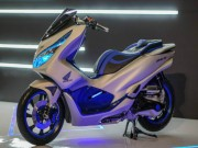 Ngắm Honda PCX 2018 bản độ công nghệ tương lai