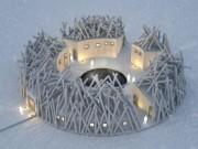 Ngắm kiến trúc độc lạ của khách sạn nổi giữa dòng sông ở Thụy Điển