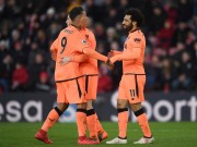 """Salah - Firmino tuyệt hay, gợi nhớ """"bài trùng"""" Gerrard - Torres"""