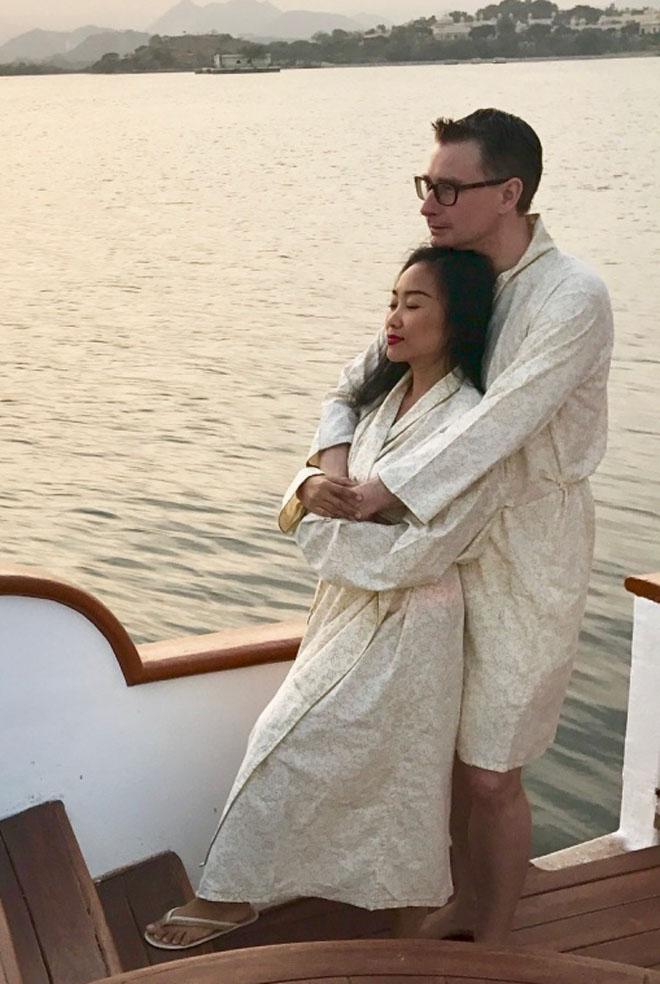 Vợ chồng Đoan Trang đón lễ tình nhân xa hoa tại Ấn Độ - 7