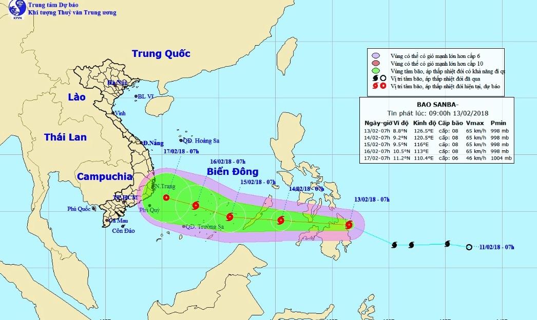 Bão Sanba vào Biển Đông, TP.HCM lên phương án ứng phó trong ngày Tết - 1