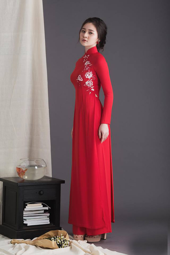 Không cần sexy, hot girl Đà Nẵng vẫn cuốn hút bất ngờ với áo dài xuân - 12