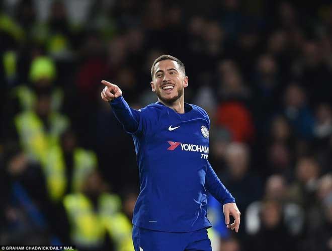 """Chelsea đại thắng: Hazard """"bung lụa"""", hăm dọa Barca - 7"""