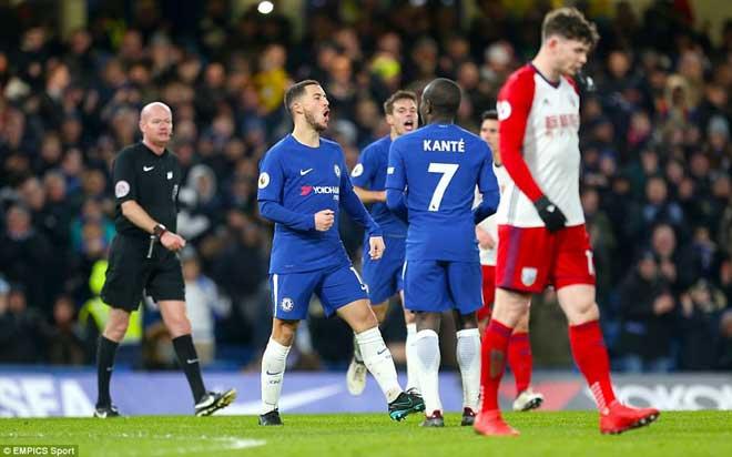 """Chelsea đại thắng: Hazard """"bung lụa"""", hăm dọa Barca - 1"""