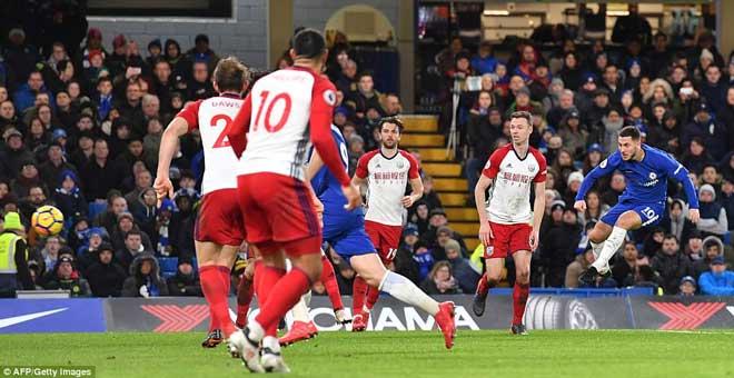 """Chelsea đại thắng: Hazard """"bung lụa"""", hăm dọa Barca - 2"""