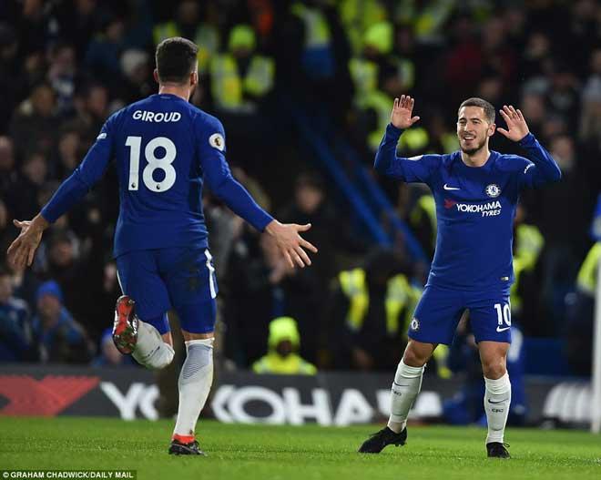"""Chelsea đại thắng: Hazard """"bung lụa"""", hăm dọa Barca - 3"""