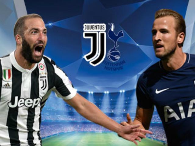 TRỰC TIẾP bóng đá Juventus - Tottenham: Công cường gặp thủ mạnh
