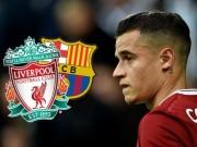 Tin HOT bóng đá tối 13/2: Coutinho sẽ trở lại Liverpool 4 tháng nữa