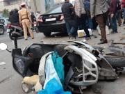 """Tin tức trong ngày - """"Xe điên"""" gây tai nạn kinh hoàng trên đường Trần Phú chiều 28 Tết"""