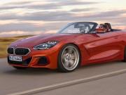 Hình ảnh phác thảo của BMW Z4 2019 phiên bản sản xuất