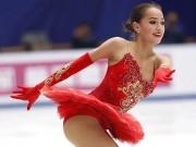 """"""" Nữ thần """"  sắc đẹp 15 tuổi giật HCB, làm  """" điêu đứng """"  Olympic mùa đông 2018"""