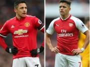 """Bóng đá - Alexis Sanchez khốn khổ: Thoát kiếp """"gánh"""" Arsenal, lại lo """"gánh"""" MU"""