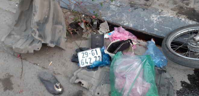 """""""Xe điên"""" gây tai nạn kinh hoàng trên đường Trần Phú chiều 28 Tết - 6"""