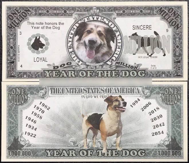 Rao bán tiền lưu niệm in hình chó trên Facebook - 2