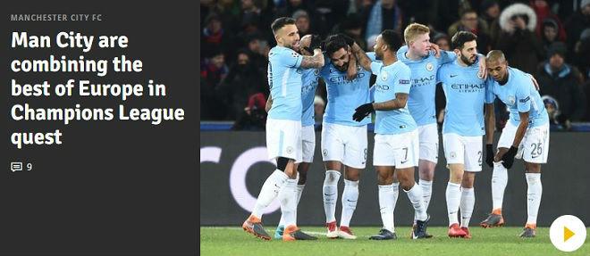Man City, Tottenham rực rỡ: Báo chí Anh nổ vang, khen hay nhất châu Âu - 2